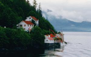 Casas en Glacier Bay