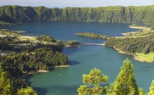 Lago en Terceira