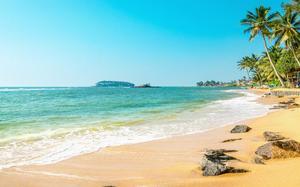Playa en Antigua