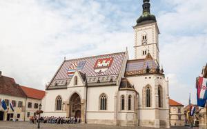 Iglesia de St Mark, Zagreb