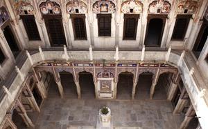 Interior del Museo Morarka Haveli