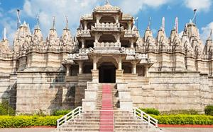 Exterior del Templo de Ranakpur