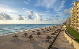 Hotel y Playa de Cancún