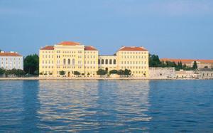 Zadar, a orillas el Mar Adriático