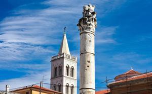Ruinas romanas en Zadar