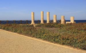 Columnas en Caesarea