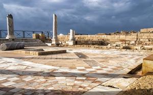 Ruinas en Caesarea