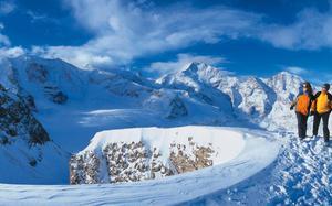 Saas, Suiza.