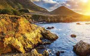 Atardecer en Big Sur