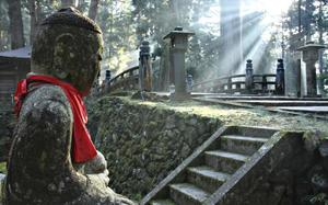 Estatua de Buda en Okunoin