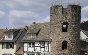 Restos de la muralla de Eberbach