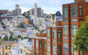 Vistas desde un barrio de San Francisco
