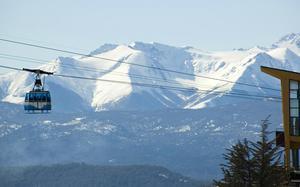 Teleférico esquí