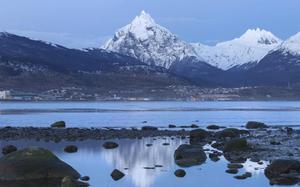 Ushuaia con nieve