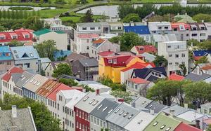 Calle en Reykjavik
