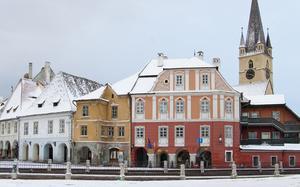 Sibiu en invierno