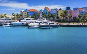 Vista aérea de Nassau