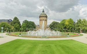 Jardines en Mannheim