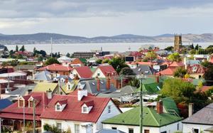 Tejados en Hobart