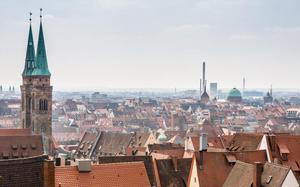 Panorámica de la ciudad de Nuremberg
