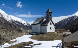 Capilla en Tirol Oriental