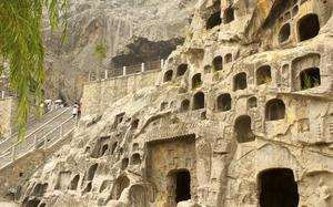 Grutas de Longmen en Luoyang