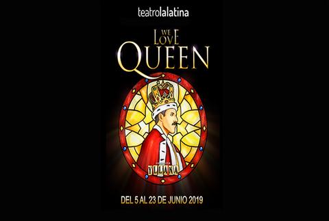 We love Queen en el Teatro La Latina