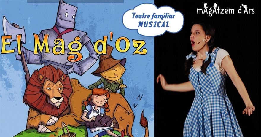 El mag d'Oz de Magatzem d'Ars en el Teatre Gaudí