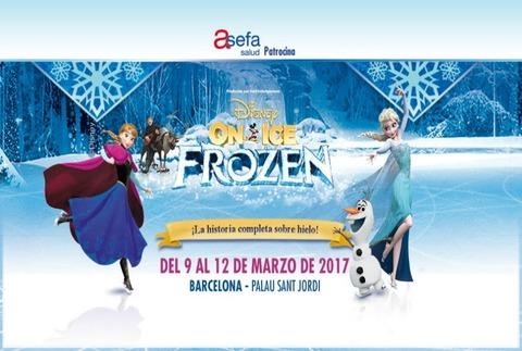 Disney on Ice - Frozen, en Barcelona