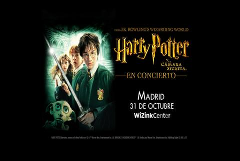 Harry Potter y la cámara secreta, en Madrid