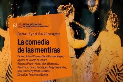 La comedia de las mentiras - Festival de Mérida