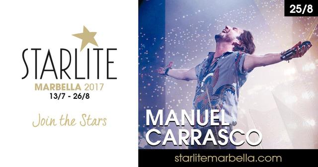 Manuel Carrasco (25 agosto) - Starlite 2017