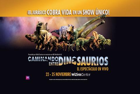 Caminando entre dinosaurios en Madrid