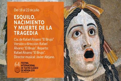 Esquilo, nacimiento y muerte de la tragedia - 64º Festival de Mérida