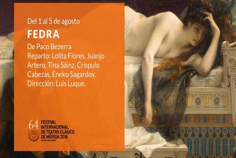 Fedra - 64º Festival de Mérida