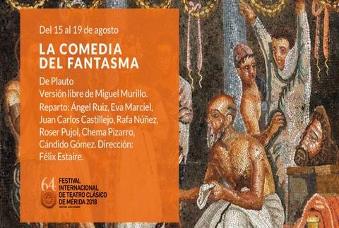 La comedia del fantasma - 64º Festival de Mérida