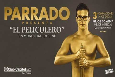 Parrado - El películero, un monólogo de cine