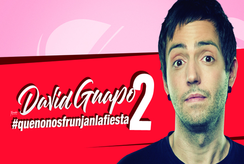 David Guapo #quenonosfrunjanlafiesta2, en Madrid