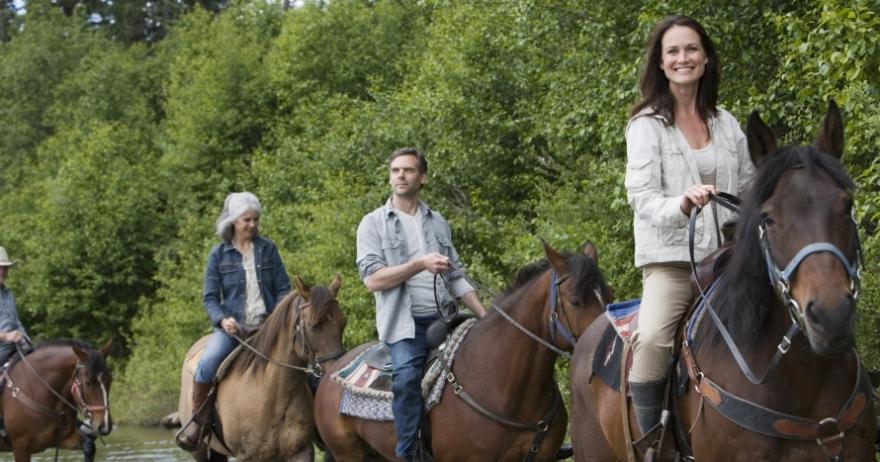 Excursi�n en quad y a caballo