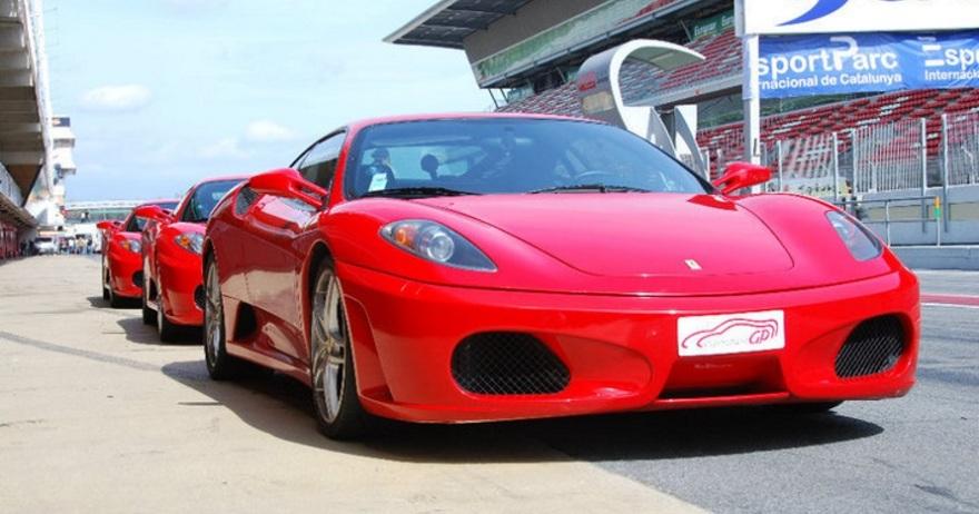 Circuito Fk1 : Ferrari lamborghini o porsche en circuito dto