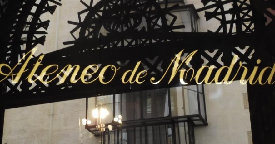 Ateneo de Madrid - Una noche con las letras