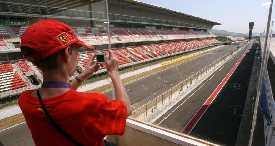 Visita guiada al Circuit de Barcelona-Catalunya