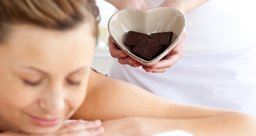 Masaje al chocolate + circuito de aguas