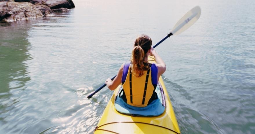 Kayak en las Islas Medas