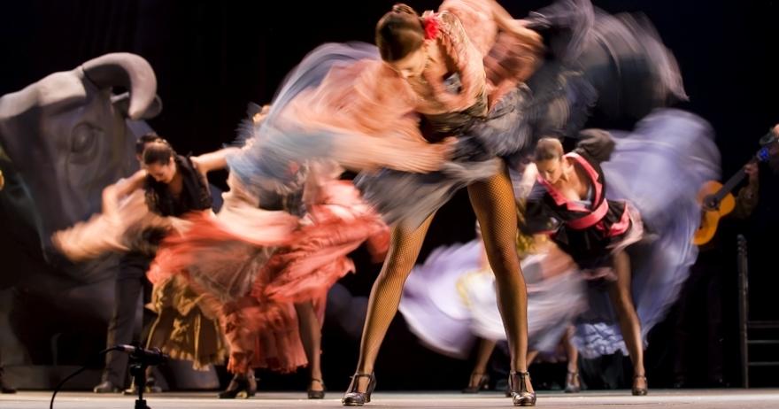 Flamenco en vivo: copa y espectáculo
