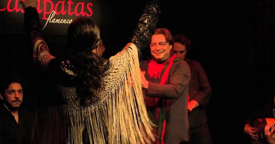 Flamenco en vivo: copa y espect�culo