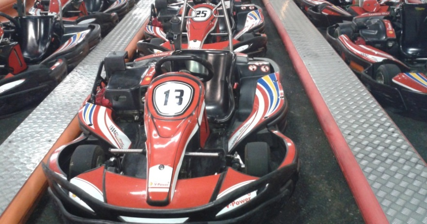 Gené Karting indoor Zaragoza