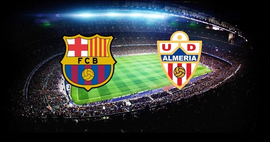 Liga BBVA 14/15 - FC Barcelona vs. Almer�a (J.30)