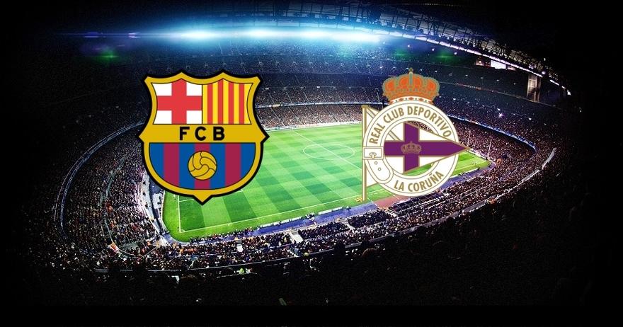 Liga BBVA 14/15 - FC Barcelona vs. Deportivo J.38