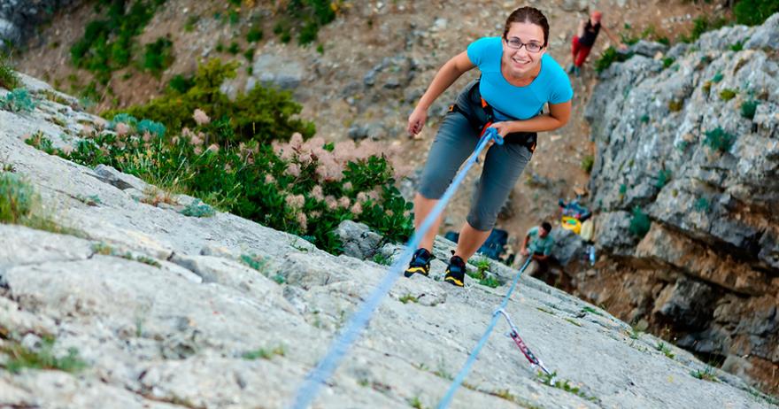 Adrenalina Natural: Rappel+escalada+cuatrimoto